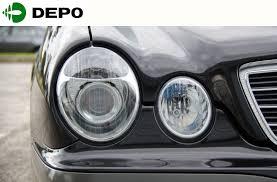 mercedes headlights mercedes w210 e class update projector headlights chrome late