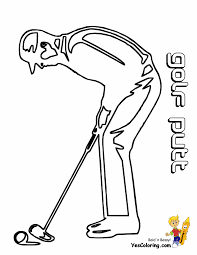 gusto golf coloring pictures golf sports free golf pictures