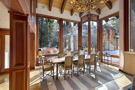 Restoration Hardware Dining Room Chairs Traditional Dining Room With High Ceiling U0026 Carpet Zillow Digs