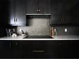 best stainless steel kitchen cabinets in india add a pop of shine to kitchen cabinets with metallic