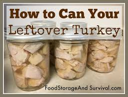 turkey can how to can your leftover turkey