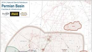 Permian Basin Map Shale Gas U0026 Unconventional Oil Exploration Development