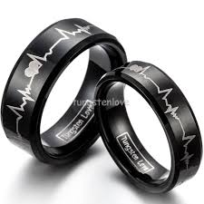about wedding rings images 1 piece new black tungsten carbide ring with laser engraved jpg