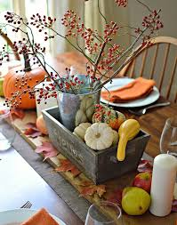 a simple thanksgiving table setting family bites