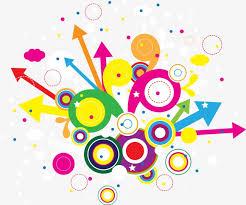 imagenes abstractas con circulos círculos de color abstracto flecha pattern resumen circulos de