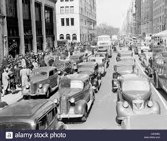 5th avenue new york cars stock photos 5th avenue new york cars 1930s pedestrian crowds and traffic on 5th avenue nyc cars taxis buses street congestion at 67th