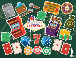 Photo Booth Las Vegas Casino Poker Photo Booth Props Printable Casino Photo Booth