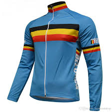 winter bicycle jacket 2017 bioracer belgium winter fleece thermal cycling jersey winter