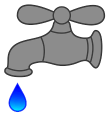 water faucet dripping free clip art