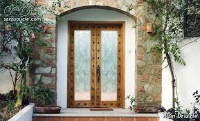 Exterior Glass Door Inserts Drizzle 3d Glass Door Inserts Sans Soucie