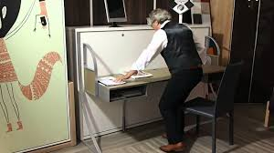 bureau escamotable lit escamotable bureau
