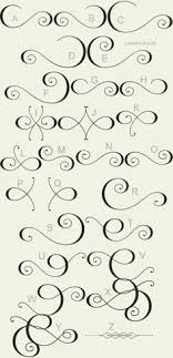 ornamental penmanship penmanship fonts and calligraphy