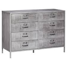 Metal Bedroom Dresser Locker Dresser Pbteen