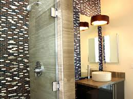bathroom large wall mirror design ideas with walk in shower ideas
