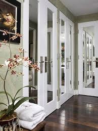 mirror closet doors for bedrooms french mirrored closet doors pilotproject org