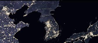 World At Night Map A Tale Of Two Korea U0027s 10 Maps Show The Vast Sea Of Contradictions
