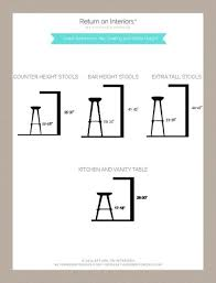 Dining Room Sets With Matching Bar Stools Best 25 Bar Stool Height Ideas On Pinterest Buy Bar Stools