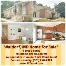 waldorf md rambler home for sale