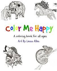 color happy volume 1 animals leann allen children blurb