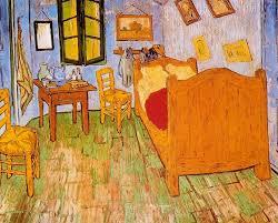 analyse du tableau la chambre de gogh arles cafe chaise nuit