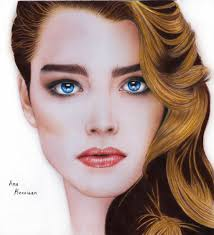 Brook Shields Realistic Drawing Of Brooke Shields By Anakerrigan On Deviantart