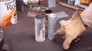 easily cast home brew aluminium round stock youtube