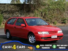 1996 nissan pulsar 1 5 auto red hatch 1 reserve cash4cars