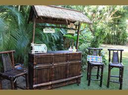 Backyard Tiki Bar Ideas Life Is A Beach Outdoor Tiki Bar U2013 Brown Bamboo Tiki Bar