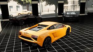 lamborghini showroom gta gaming archive