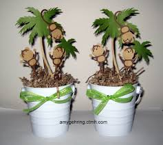 Centerpieces For Baby Shower by Monkey Centerpieces Used For Baby Shower Https Www Facebook Com