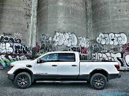 cummins truck 2016 nissan titan xd review not quite hd pickup makes cannonball