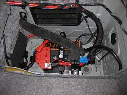 bmw e90 battery 52 pound battery changed to a 17 pound battery