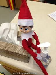 elf on the shelf goes to frugal fanatic
