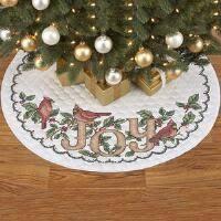 tree skirts sted stitchery embroidery