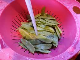 comment cuisiner des pois gourmands wok de pois gourmands à l asiatique la tendresse en cuisine