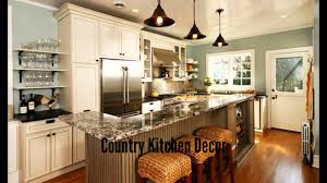 kitchen ideas decor inspiring country kitchen decor youtube in decorating kitchens