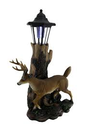 Whitetail Deer Home Decor by Amazon Com Whitetail Deer Sculptural Solar Light Statue Patio
