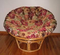 Papasan Chair Cushion Outdoor Furniture Charming Rattan Indoor Or Outdoor Papasan Chair With