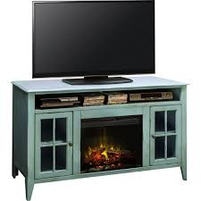 Tv Stand With Fireplace Legends Furniture Ca5312 Calistoga Blue 60