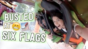 Six Flags Email Busted At Six Flags Youtube