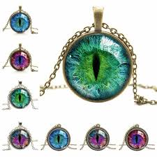 cat eye pendant necklace images Glazing cat eye pendant necklace pet clever jpg