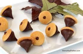 chocolate acorn cookies recipe