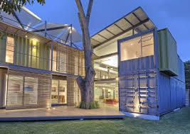 shipping container home construction design book for prefab