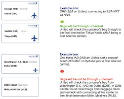 united airlines checked baggage united eliminating checked bags on separate tickets outside star