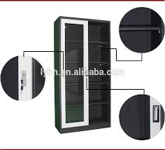 Media Storage Cabinet Huge Sliding Glass Door Cd Dvd Vhs Storage Rack Cabinet Media