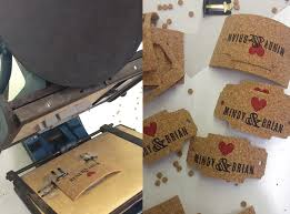 wedding invitations cork die cut cork tags for wedding invitation suite sofia invitations