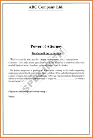 Power Of Attorney Revocation Form Free by How To Write A Power Of Attorney Letter Thebridgesummit Co
