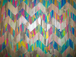 craftiness the chevron painted canvas housegirlhaley