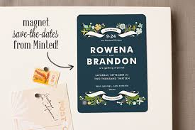 magnetic save the dates save the date magnets from minted and a 200 giveaway snippet