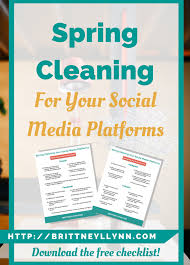 Time For Spring Cleaning by Five Ways To Improve Your Pinterest Profile Brittney Lynn